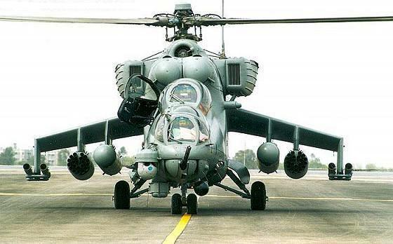 Russia Agrees to Sale Four Mi-35 'Hind E' Helicopters to Pakistan ...